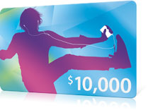 Apple $10,000 giftcard for the 10,000,000,000th app
